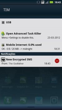 BlackSMS - Text Crypt apk screenshot