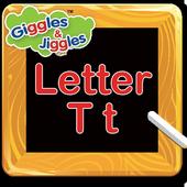 Letter T for LKG Kids Practice icon