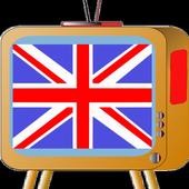United Kingdom UK TV Channels icon