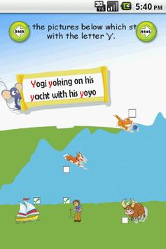 Letter Y apk screenshot