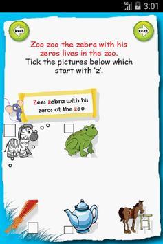 Letter Z apk screenshot