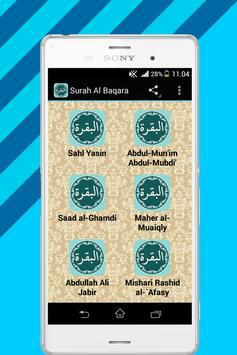 Surah Al Baqara Mp3 poster