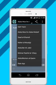 Surah Al Baqara Mp3 apk screenshot