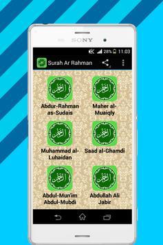 Surah Ar Rahman Mp3 poster