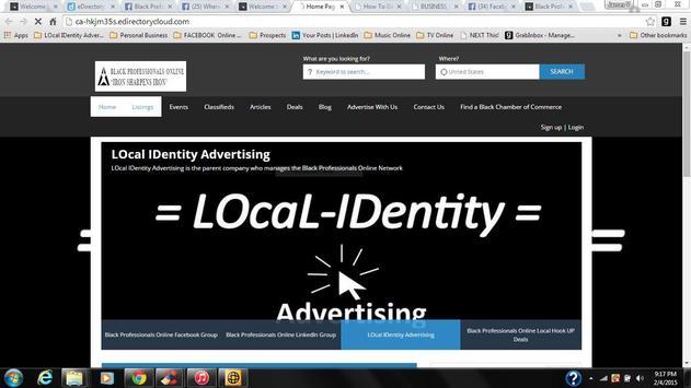 Black Professionals Online apk screenshot
