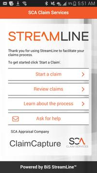 Streamline Claim Capture apk screenshot