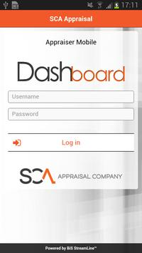 SCA Dashboard Mobile poster
