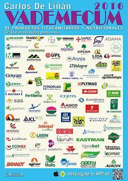 Vademécum Fitosanitarios 2016 poster