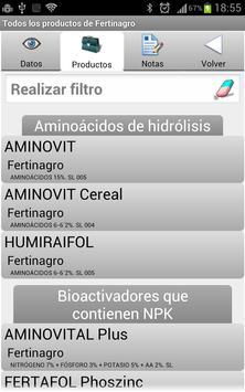 Vademécum Fitosanitarios 2016 apk screenshot