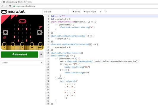 micro:bit Numeric apk screenshot