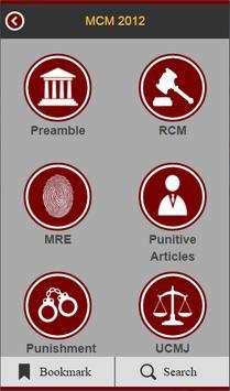 Manual For Courts-Martial apk screenshot