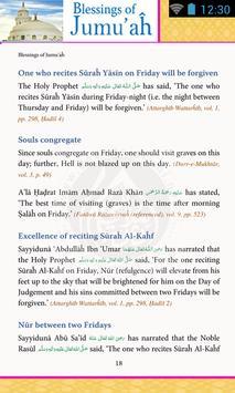 Blessings of Jumuah apk screenshot