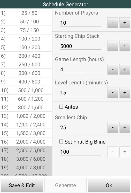 Poker timer free download