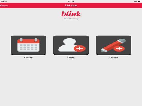 Blink app for Android apk screenshot