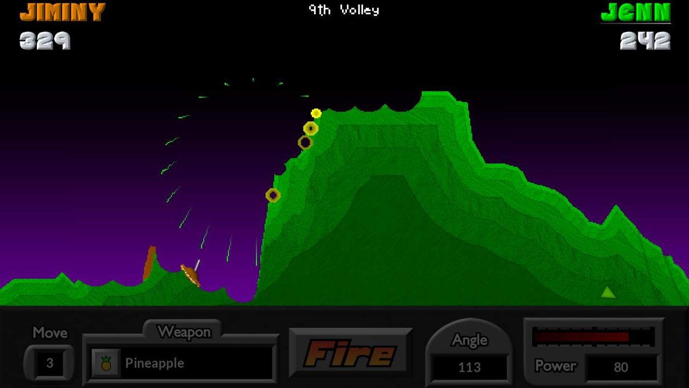 Pocket Tanks Deluxe 1.6 - Play Game Online - Arcade Spot