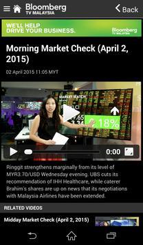 Bloomberg TV Malaysia apk screenshot