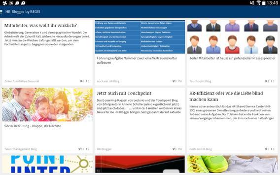 HR-Blogger apk screenshot
