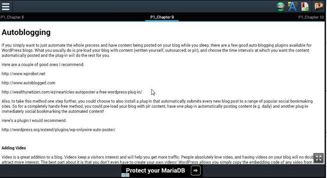 Blog Cash System apk screenshot