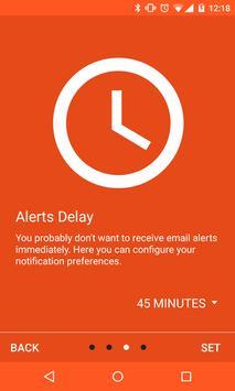 YAM - Missed Calls to Email apk screenshot