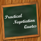 Practical Negotiation Quotes icon