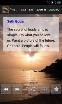 Practical Leadership Quotes poster