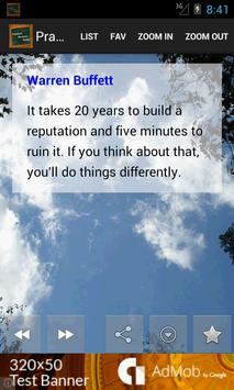 Practical Business Quotes apk screenshot