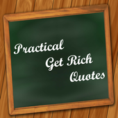 Practical Get Rich Quotes icon