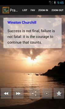 Practical Success Quotes poster