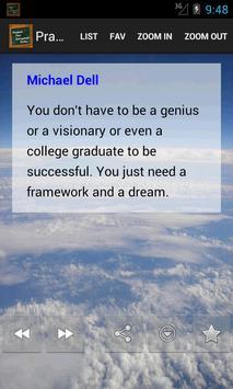 Practical Success Quotes apk screenshot