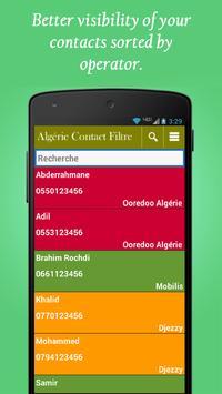 Algeria contacts filter poster