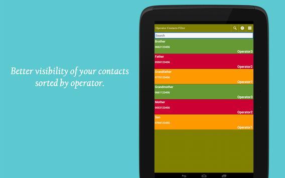 Algeria contacts filter apk screenshot