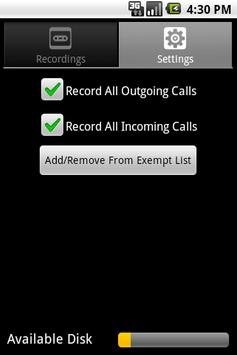 Phone Recorder apk screenshot