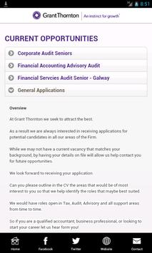 Grant Thornton Graduates apk screenshot