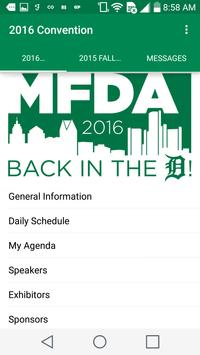 MFDA Convention poster