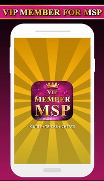 Guide For MSP VIP Membership poster