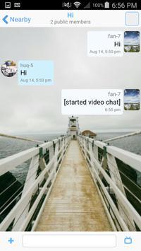 BlueChat apk screenshot