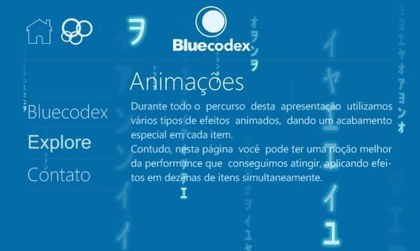 Bluecodex poster