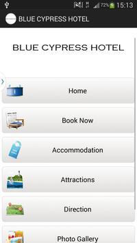 BLUE CYPRESS HOTEL - ARLINGTON poster