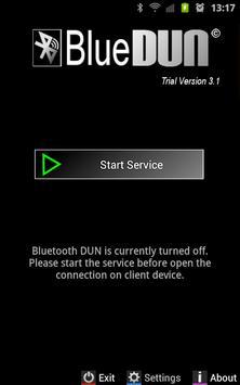 BlueDUN+ Trial poster