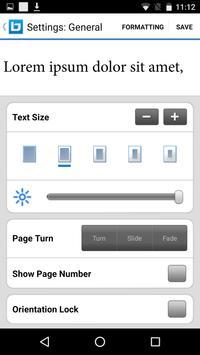 Bluefire Reader apk screenshot