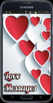Romantic Love Messages apk screenshot