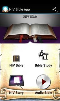 NIV Bible App poster