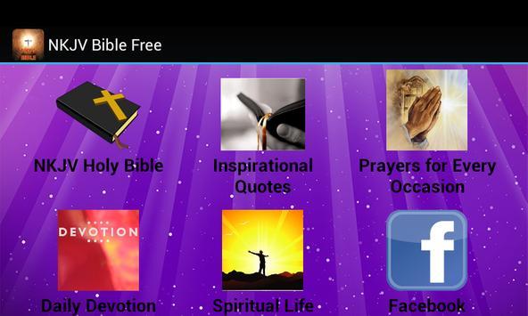 NKJV Bible Free poster