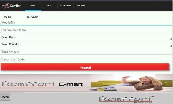 Komffort apk screenshot