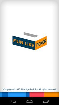 FB fan pages like counter Lite poster