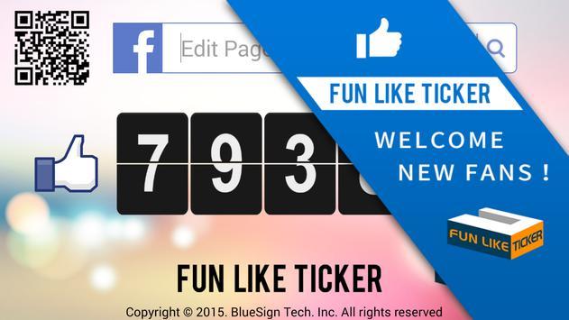 FB fan pages like counter Lite apk screenshot
