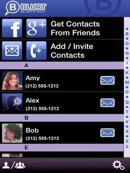 BLURT apk screenshot