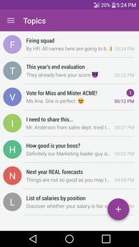 BlurzApp Messenger apk screenshot