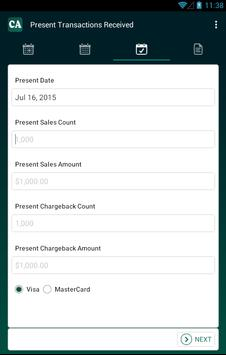 Chargeback Analyzer apk screenshot