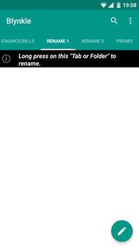 Blynkle SMS apk screenshot